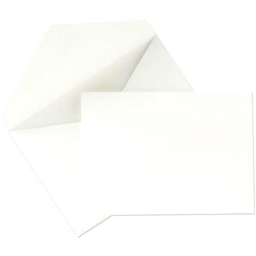 Crane & Co. Pearl White Notes (CN1111)