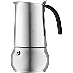 304 Stainless Steel Coffee pot Insulation Kettle Large Capacity Teapot 77.4 Ounces Suitable for Household use
