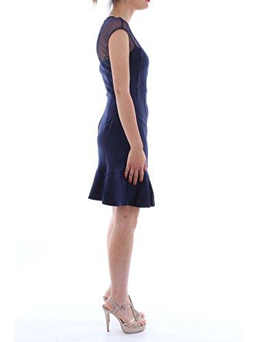 Damen Kleid LUZ Jeans DRESS Guess WAFF0 G7o1 blau W83K44 BXUWnqY