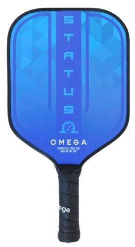 Engage ピックルボールのステータスピックルボールパドル ホワイト/ブルー B07HB5MD4L  アイスブルー
