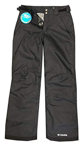 (Columbia Mens Arctic Trip Omni-Heat Ski Pants (M, Black) )