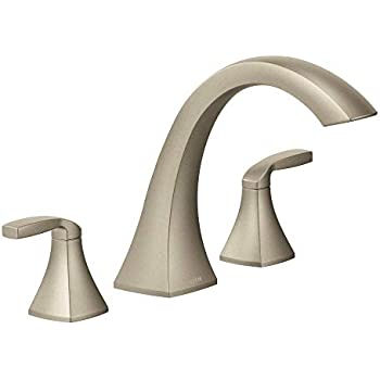Moen T6905bn 9000 Voss Two Handle High Arc Bathroom Faucet