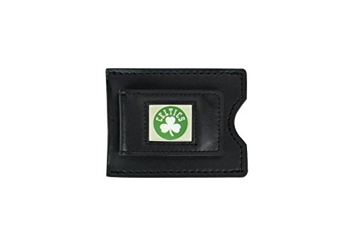 Aminco Money Clip (NBA Boston Celtics Leather Money Clip and Card Case)