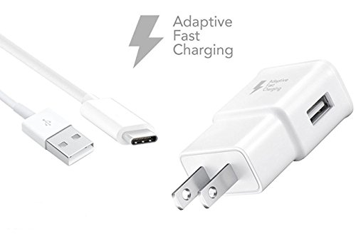 USB Type C Cable, Dorisan USB C Cable (1X Wall Charger +1X Type-C Cables)USB Type A to C Fast Charger for Macbook, LG G6 V20 G5,Google Pixel, Nexus 6P 5X, Nintendo Switch