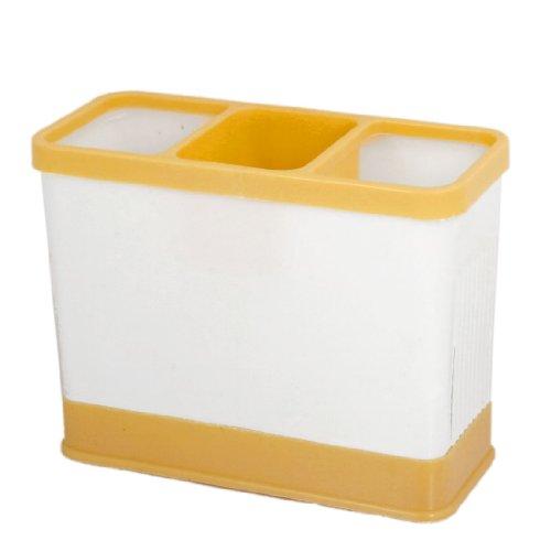 UPC 700836506645, Wall Mount Detachable Chopsticks Case Container White Orange