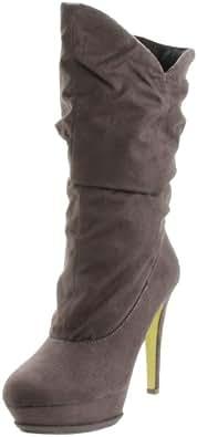 Michael Antonio Women's Sabena Boot,Grey,7.5 M US