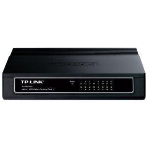 TP-LINK TL-SF1016D 16-Port 10/100Mbps Desktop Switch. TL-...