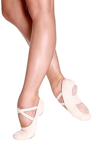 So Danca SD16 Stretch Canvas Shoe (D 7.0L Light Pink) (Dancos Shoes)