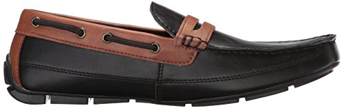 Burnish Mens Driving Style Mens Levis Pierce Black Loafer Pierce Levis wXtPqT