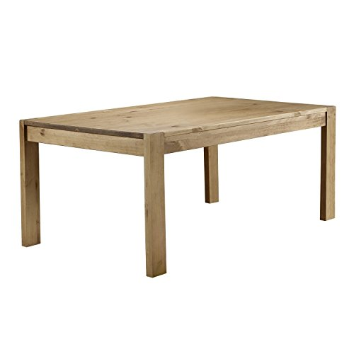 Emerson Solid Pine Rustic Dining Table