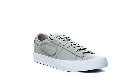 Nike Blazer Studio QS Leather Fashion Sneaker 850478-001 (8.5 D(M) US, Light Bone/Light Bone-White)