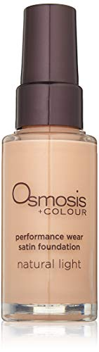 Osmosis Skincare Performance Wear Satin Foundation, Natural Light