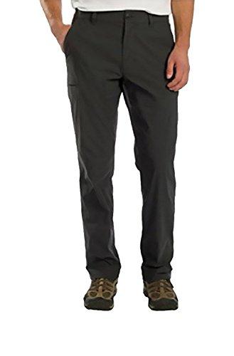 UNIONBAY Men's Lightweight Comfort Waist Travel Tech Chino Pants, Charcoal, - Suit For Express Men