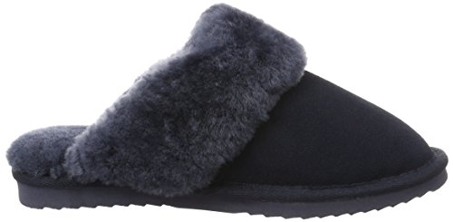 Warmbat Flurry - Zapatillas de casa para mujer Azul (Dark Navy)