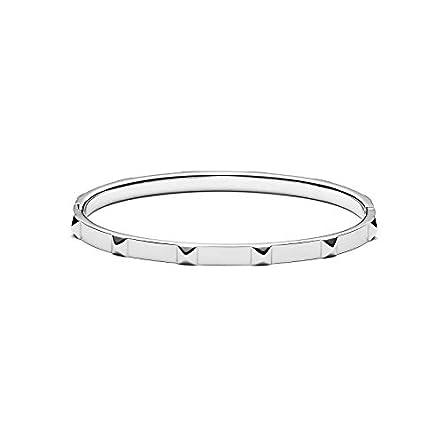 MVMT Women's Stud Thin Bangle Bracelet | Clasp...