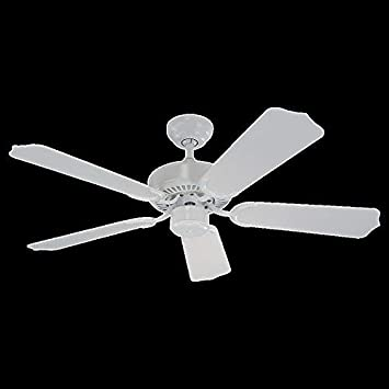 Monte Carlo 5WF42WH, Weatherford II White 42 Outdoor Ceiling Fan