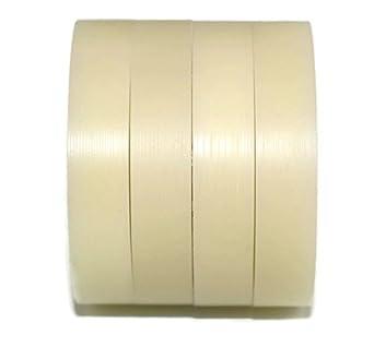 Pack de 4 ruedas de nailon mecanizadas de 50 mm de di/ámetro fabricadas en la UE 10mm wide-10mm bearing 4