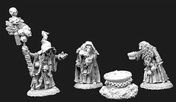 Dark Heaven Witch Coven RPR 02904 by Reaper