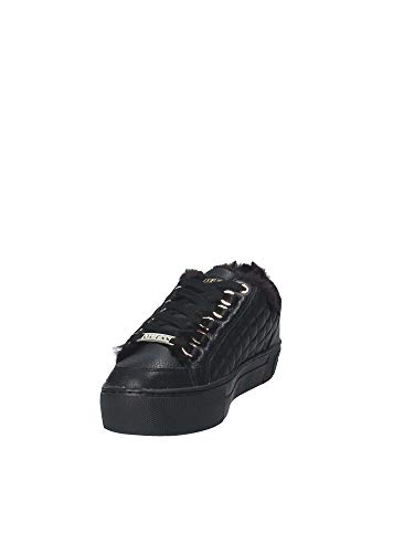Donna Flmet4 Nero Guess Lea12 Sneakers q0ypP67