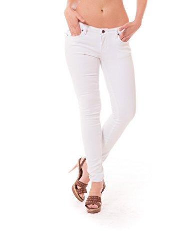 Womens Super Stretch Jeans P26136SK White 5