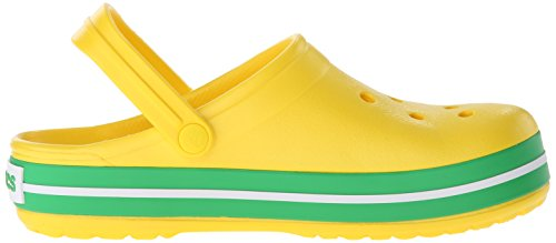 grass Green lemon Adulte Mixte Crocband Crocs Jaune Sabots ZYnqBanTC