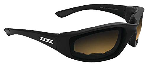 Epoch Eyewear Epoch Foam Photochromic Sunglasses Black/Amber/Smoke Lens (Black, OSFM)