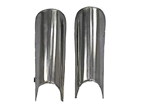 Knight Leg Armor (NauticalMart Gothic Medieval Knight Steel Greaves Leg Armor: Renaissance)
