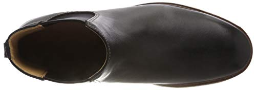 Chelsea Gobi Nero black Clarks Stivali Leather Uomo Clarkdale pRWxwt