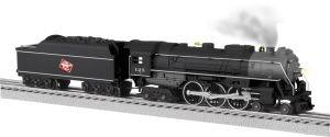 Lionel Milwaukee Road LionChief Plus Hudson - Engine Steam Hudson