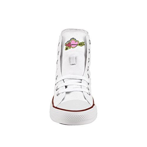 Scarpe Converse Personalizzate All Star Alta - sneakers stampa Neon arrows