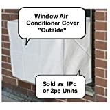 Window Air Conditioner Cover - Outside Heavy Duty Window/thru Wall Cover - 28Wx20Hx20D -