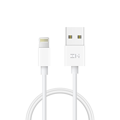 ZMI Lightning Cable/iPhone Charge Cable 3.3 ft, Apple MFi Certified for iPhone 8/8 Plus/X/7/7 Plus/SE/6/6 Plus/6S/6S Plus/5/5C/5S, iPad/iPad Mini/iPad Air, iPod Touch/Nano with Lightning (Ipod Power Pack)