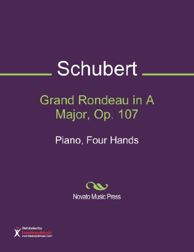 Grand Rondeau in A Major, Op. 107 Sheet Music (Piano, Four Hands)