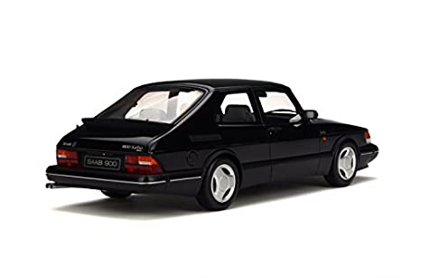 Otto Mobile ot678 - Vehículo miniatura - Saab 900 Turbo - 1989 - Echelle 1/18, Negro: Amazon.es: Juguetes y juegos