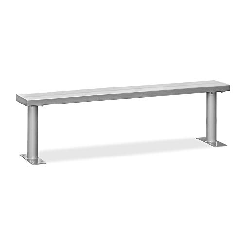 Benches Aluminum Locker Room - Salsbury Industries 77777 Aluminum Locker Benches