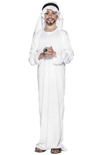 Smiffy's Arabian Sheik Kids Costume, White, Large