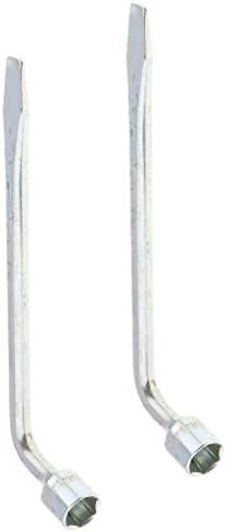 2x 21mmホイールラグナットレンチ車トラックブレースタイヤ六角キーソケットスパナ