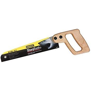 Stanley 20-221 10-Inch 12 Points Per Inch SharpTooth Mini Utility Saw