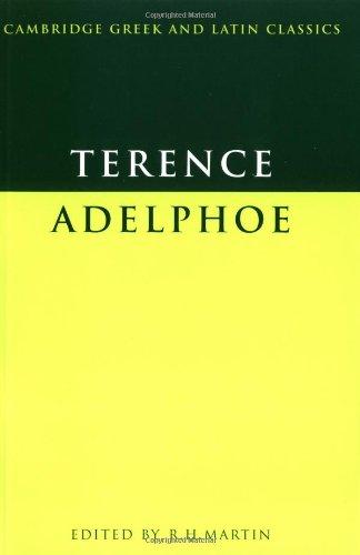 Terence: Adelphoe (Cambridge Greek and Latin Classics) (English and Latin Edition)