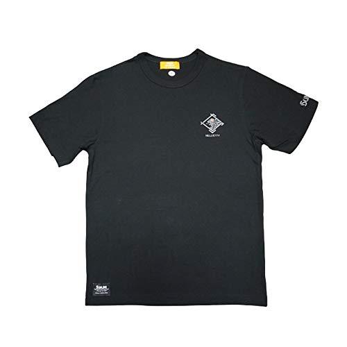썬 라인 (SUNLINE) 헬로 T 셔츠 블랙 SKT-1920 / Sunline Hello Kitty T-Shirt Black SKT-1920