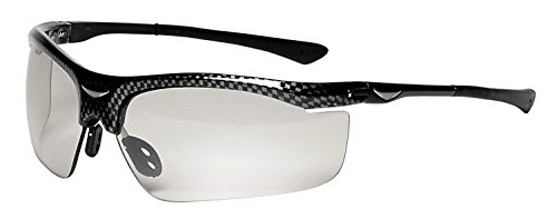 3M Smart Lens Protective Eyewear, 13407-00000-5 Photochromatic Lens, Black Frame  (Pack of 1)