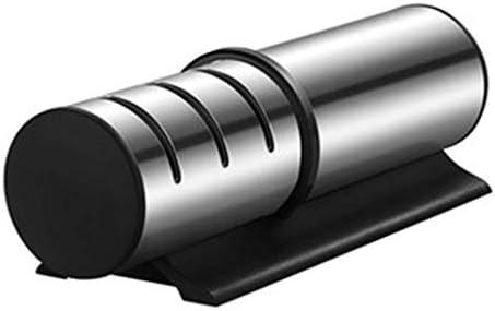 プロフェッショナルナイフシャープナー、荒研削用ダイヤモンドロッド-成形および研磨用タングステンカーバイドスチール-刃のホーニングおよび研磨用セラミックストーン、滑り止めベース付き