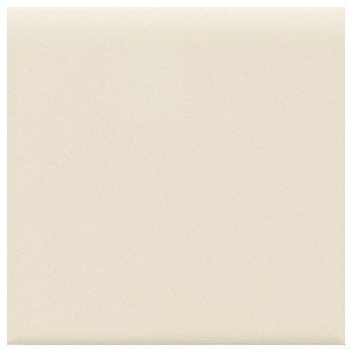 Daltile 6 in. x 6 in. Matte Almond Ceramic Bullnose Wall ()