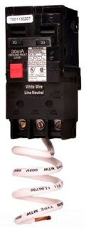 QE130 30-Amp Single Pole 120-Volt Ground Fault Equipment Protection Circuit Breaker