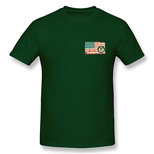 3rd Armored Cavalry Regiment US Flag Short Sleeve Military Training Uniforms-T-Shirts