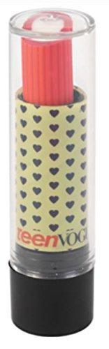 Staples Teen Vogue Latex Free Lipstick Eraser (Navy Hearts on (Best Staples Lipsticks)