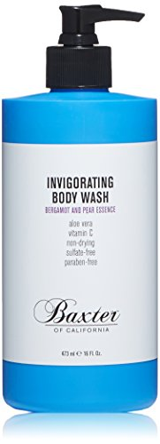 - Baxter of California Invigorating Body Wash for Men, Bergamot & Pear 16 oz