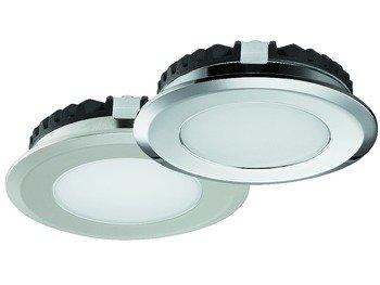 ounted, Warm White 3000K, Loox LED 2039, Polished chrome ()
