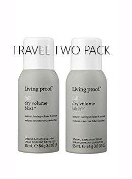Living Proof Full Dry Volume Blast 3oz Travel 2 Pack Deal