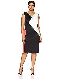 Women's Plus Size 3 Colorblock Dress